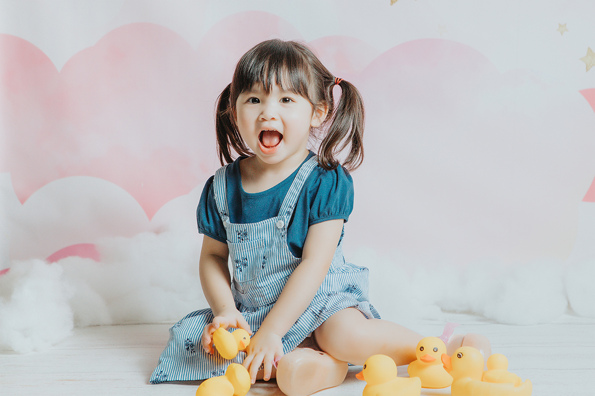 A SMILE from a child is packaged SUNSHINE and RAINBOWS